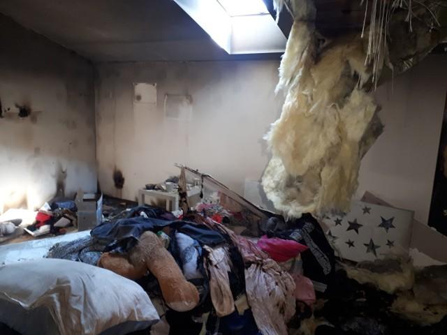 Pożar zabrał ośmioosobowej rodzinie wszystko. Trwa zbiórka na odbudowę domu.