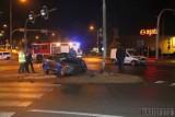 Nocne zderzenie dwóch samochodów w Opolu. Jeden z kierowców miał prawie 0,4 promila