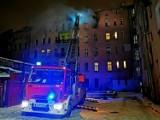 Śmierć w płomieniach. Z soboty na niedzielę wybuchł groźny pożar we Wrocławiu. Jedna osoba nie żyje (ZDJĘCIA)