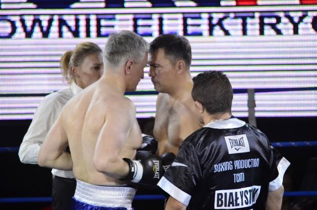 "Walka prezydenta Poznania z ""Tigerem"" podczas Biznes Boxing Polska."