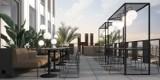 Hi Piotrkowska będzie mieć restaurację na ostatnim piętrze. Na hotel Hampton by Hilton trzeba poczekać do przyszłego roku WIZUALIZACJE