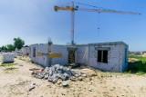 Trwa budowa domu z mieszkaniami wspomaganymi i chronionymi w Świeciu. Widać pierwsze efekty