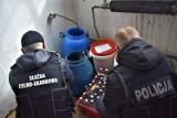 W gminie Lipsk policjanci zlikwidowali nielegalną bimbrownię