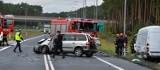 Wypadek na S10 koło Torunia. Dwie osoby hospitalizowane  [FOTO,WIDEO]