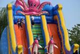 Festyn na zakończenie lata w Skokach. Impreza odbyła się na miejscowym targowisku