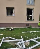 Wybuch gazu w Janowie Podlaskim. Dwie osoby zostały ranne