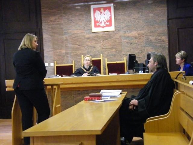 Sprawa byłego wójta Gizałek - Małgorzata Wąsiewicz w sądzie