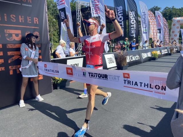 JBL. Triathlon Sieraków 2021 za nami. Świetne zawody w Sierakowie z plejadą sportowych gwiazd oraz serią rekordów życiowych (4 i 5.09.2021).