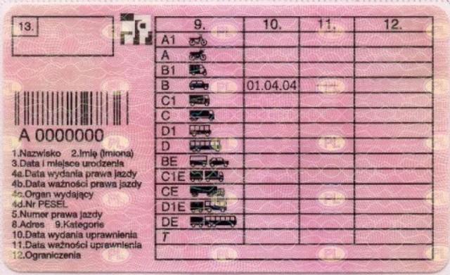 Kody na prawie jazdy ma wiele osób i najczęściej oznaczają one konieczność wprowadzenia pewnych modyfikacji w pojeździe bądź zaopatrzenia się w konkretne sprzęty, zanim zasiądziemy za kierownicą i wyruszymy w drogę.  Lepiej ich nie ignorować, bo kontrola drogowa może się dla nas źle skończyć, jeśli mamy jakieś liczby na rewersie prawa jazdy!  Sprawdź obowiązujące w Polsce kody na prawie jazdy i dowiedz się, co każdy z nich oznacza. Masz któryś z nich na swoim prawie jazdy?  Kliknij w kolejne zdjęcia >>>