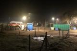 Jaśniej na PSZOK-u w Warszkowie. Zamontowano oświetlenie i system zabezpieczeń