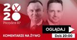 Dzisiaj, godz. 20.00. Studio na żywo. Prezydent Andrzej Duda czy Rafał Trzaskowski? Jakie znaczenie w tych wyborach odgrywają emocje?