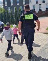 Straż Miejska w Częstochowie dzięki monitoringowi odnalazła ojca z dwójką dzieci, który był poszukiwany od trzech dni