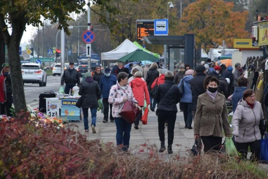 We wtorek, 12 października, bazary w Kielcach mimo słabej...