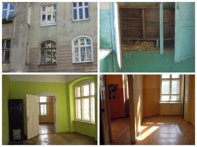 Cena wywoławcza470 000,00 zł  Opis oferty  Lokal o powierzchni użytkowej 78,14 m2 położony jest na pierwszym piętrze budynku. Mieszkanie jednostronne, z balkonem, w układzie częściowo rozkładowym. Wejście do lokalu przez zamykany korytarz, wspólny z lokalem nr 4a.  Lokal składa się z : • pokoju o pow. 15,75 m2 • pokoju o pow. 27,04 m2 • pokoju o pow. 3,54 m2 • p.pokoju o pow. 14,01 m2 • kuchni o pow. 10,90 m2 • spiżarka o pow. 0,50 m2 • łazienki o pow. 4,05 m2 • WC o pow. 2,35 m2 oraz pomieszczenia przynależnego w piwnicy o pow. 8,54 m2  Zobacz na kolejnym slajdzie jakie nieruchomości sprzedaje PKP