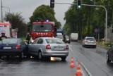 Tragiczny wypadek na DK 78 w Zawierciu. Czołowo zderzyły się dwa samochody