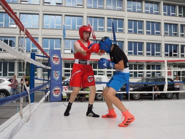 Zawodnicy z dziesięciu klubów bokserskich skrzyżowali rękawice w ramach 15 niepunktowanych walk.