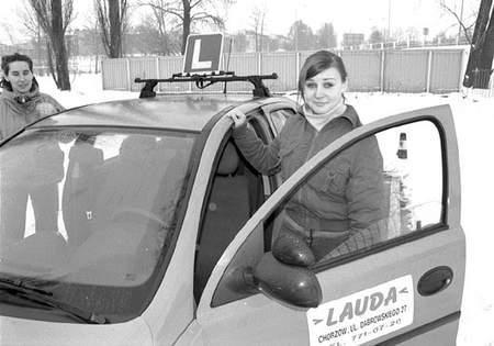 Wczoraj Mariola Rusek miała pierwszą jazdę. Zdąży zaliczyć kurs jeszcze przed podwyżką. Fot: zdjęcia: Sylwester Witkowski