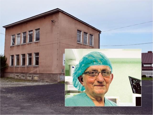 Doktor nauk medycznych Franciszek Rachel ma pomysł na utworzenie oddziału obserwacyjno-zakaźnego w dawnej poradni przeciwgruźliczej