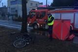 Tragiczny wypadek w Sosnowcu. Samochód potrącił rowerzystę, 58-latek nie żyje