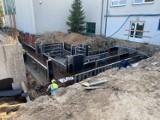 Basen w Topoli Królewskiej pnie się do góry. Do końca roku obiekt zostanie przykryty dachem