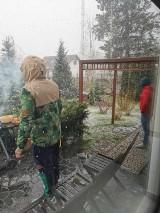 Najważniejsze, że na dziś nie zapowiadają opadów, a reszta to jak to w kwietniu bywa…zimnoooo