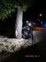 Witkowo: Prowadził pod wpływem alkoholu i spowodował wypadek - pasażer walczy o życie. Usłyszał zarzuty