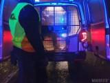 Wypadek w Bierdzanach. Pijany kierowca wylądował najpierw w rowie, a następnie w izbie wytrzeźwień [zdjęcia]