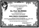 Zmarł ks. Piotr Majewski, były proboszcz parafii św. Katarzyny w Rzeczycy