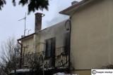 Pożar budynku mieszkalnego w Kobylinie [ZDJĘCIA]
