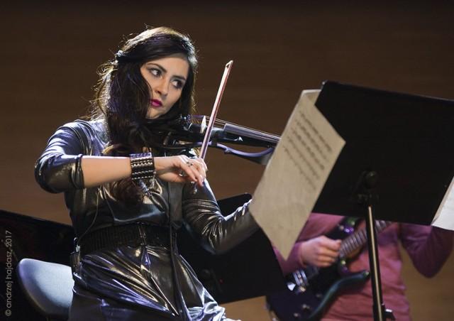 Basia Szelągiewicz, koncert w Auli Szkoły Muzycznej w Szamotułach, styczeń 2017 r.