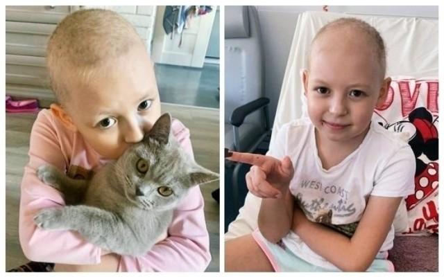 Nadia Makarczuk marzy, by wrócić do domu do kotków, które kocha. Pomóżmy spełnić to  dziecięce marzenie