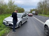 Wypadek w Opolu. Na ulicy Wrocławskiej zderzyło się siedem samochodów! [ZDJĘCIA]