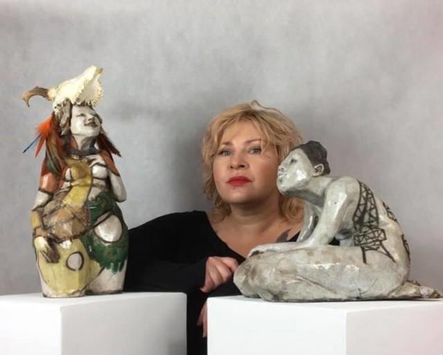Rzeźby Marty Wlaźlińskiej z Goleniowa zostaną zaprezentowane na wystawie w klubie 13 Muz w Szczecinie
