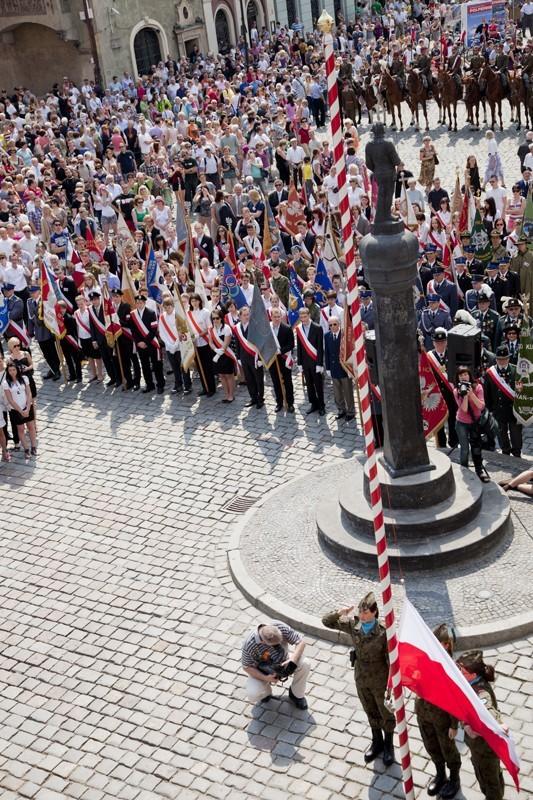 Tak 3 maja świętowano w Poznaniu w ubiegłym roku.