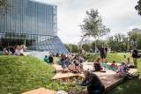 Lato na zielonym skwerze przy Muzeum POLIN. Kulturalne i rekreacyjne wydarzenia na Łące Leśmiana