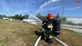 Jastrzębie: awaria w rozlewni gazu LPG przy Energetyków. Na szczęście strażacy tylko ćwiczyli. Zobaczcie ZDJĘCIA