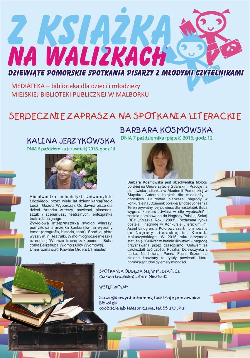 Z Książką Na Walizkach Znowu W Malborku Spotkaj Się Z