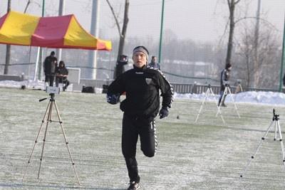 32-letni Maciej Bykowski, tak jak cały zespół, został poddany testom szybkościowym