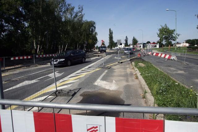 Remont ulicy Sikorskiego w Legnicy