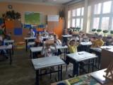 Warsztaty plastyczne w Szkole Podstawowej nr 2 poprowadziła malarka Magdalena Ołubek