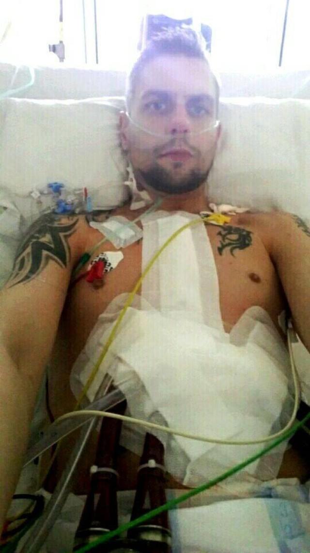 Były żołnierz - śremianin - czeka na przeszczep. Panu Łukaszowi można pomóc oddając krew