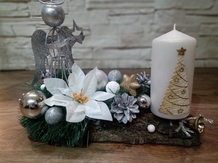 Coraz więcej pięknych, świątecznych ozdób pojawia się na...