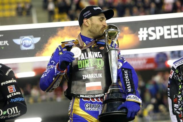 Bartosz Zmarzlik, żużlowiec Stali Gorzów, w sezonie 2020 obronił tytuł mistrza świata.
