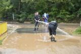 Zerwane drogi, zalane podwórka. W gminie Bodzechów trwa sprzątanie