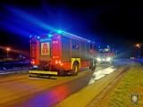 Pożar przy ul. Poznańskiej w Sulmierzycach [ZDJĘCIA]
