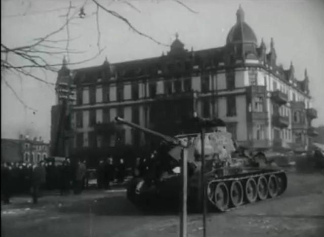 Archiwalne fotografie Częstochowy z okresu wojennego.