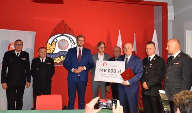 Strażacy z regionu otrzymali pieniądze z Ministerstwa Sprawiedliwości