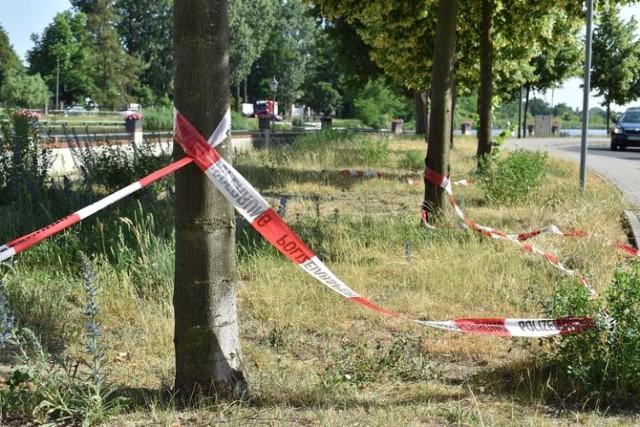 Do tragedii w Gubinie doszło rok temu. 19-latek próbował przepłynąć na drugi brzeg rzeki...