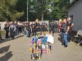 Motocykliści zebrali ponad 300 kg karmy dla zwierzaków ze schroniska! Brawo! [ZDJĘCIA]