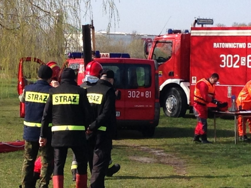 Katastrofa samolotu w Katowicach: Około godz. 9 otrzymaliśmy...